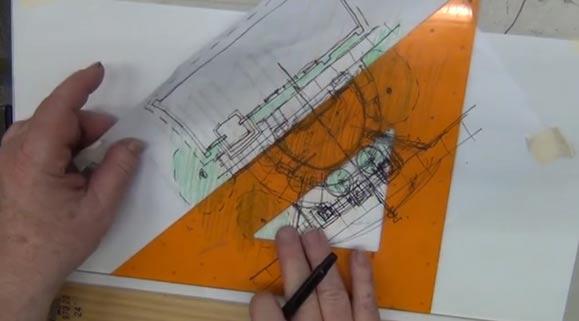 UBC Garden Design 3D AXO