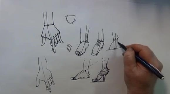 Hands and Feet - Head Form, 3 of 7