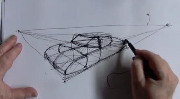 Perspective: Curvy Vip Car