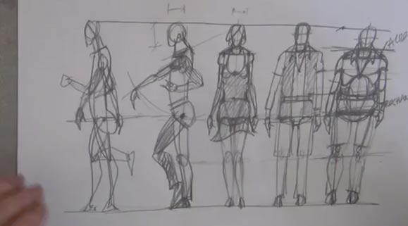 Simple Scale Figures