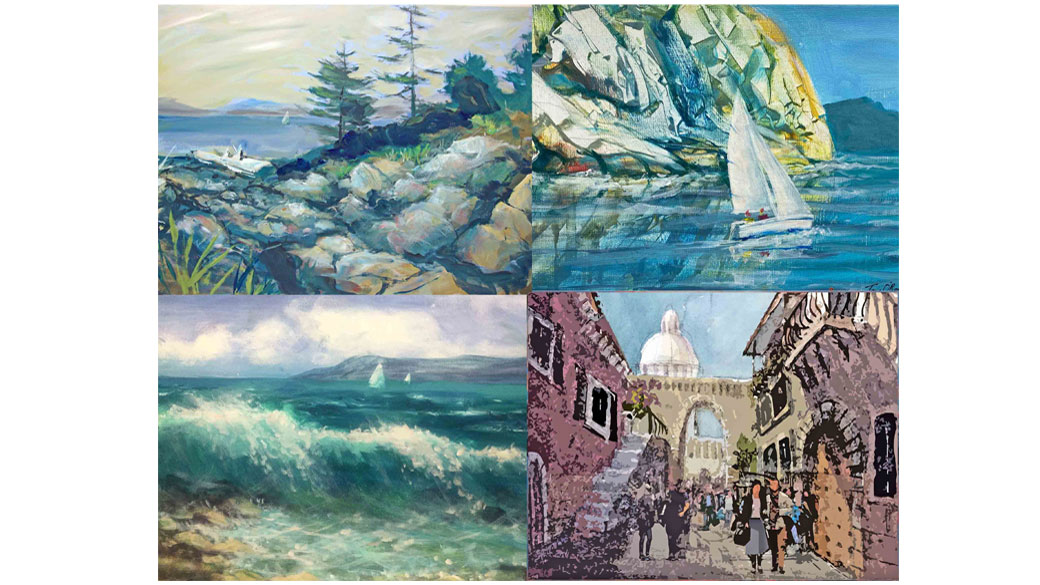 2 Online Painting Courses –  Winter 2020