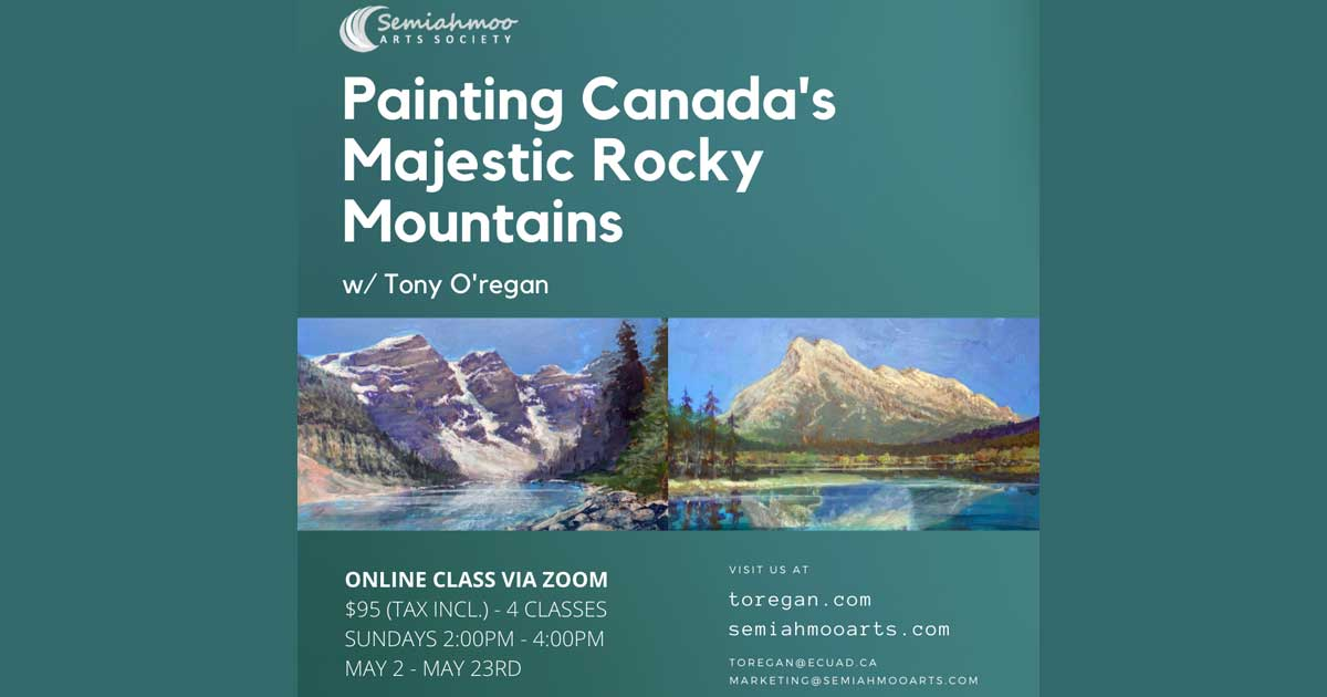Painting Rocky Mountains Series